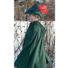 Robin Hood Cape. Isn't it dashing?!