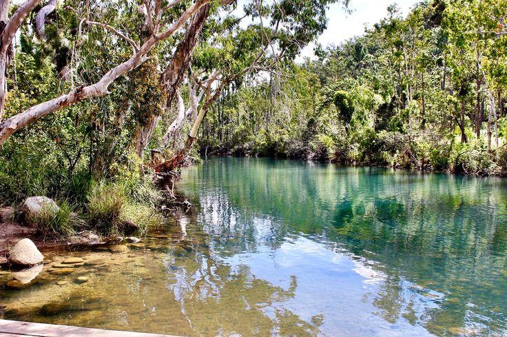 Stoney creek national park byfield Queensland water creek park travel