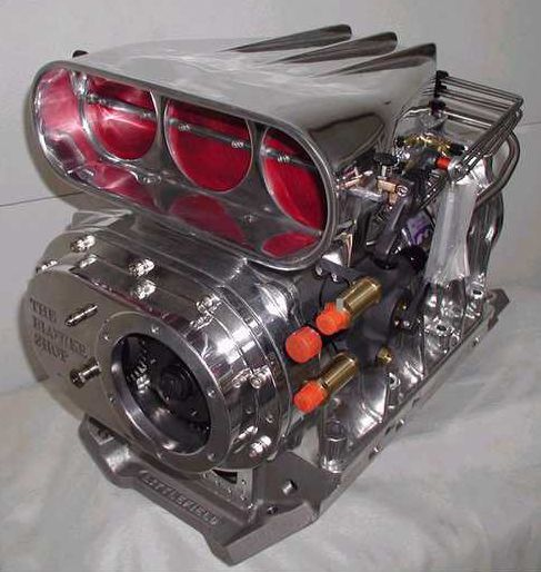 Blower Supercharger Kit For Ford 302: (The Blower Shop's 8-71)