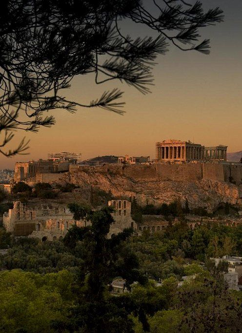 The acropolis was the high point in a Greek city.  They were used a refuge while the city was under attack.  It also house the most important religious structures. Information found in text book (Ireland)