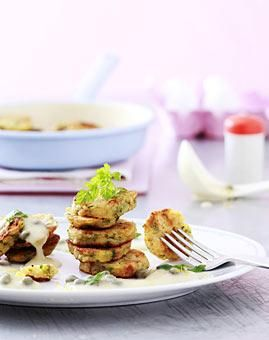 Rezept: Petersilien-Knödel mit Zitronen-Kapernsoße - [LIVING AT HOME]