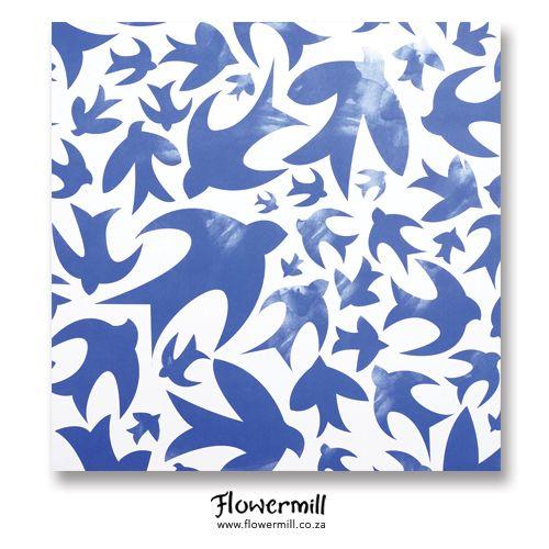 Our new Gift Wrap, Free as a bird www.flowermill.co.za