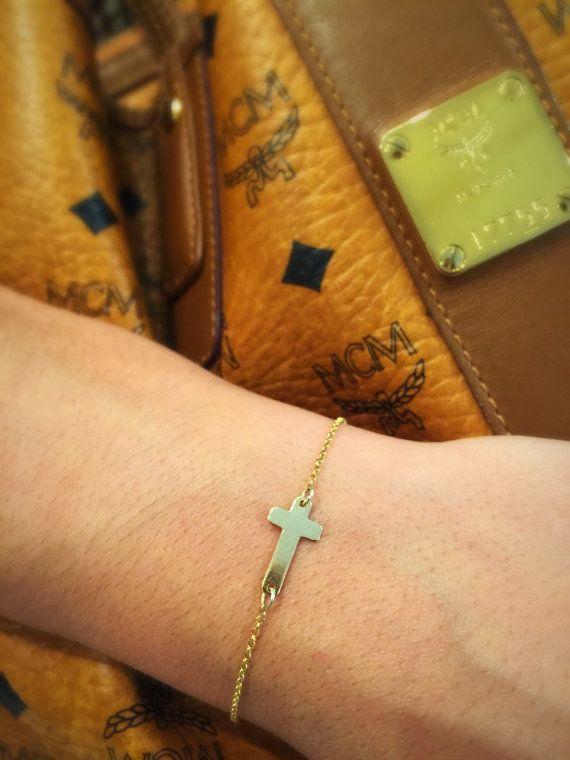 Gold Wings Bracelet, Turquoise Stone Bracelet, Eye Bracelet, Cross Bracelet, Gold Plated Bracelets, Initial Bracelet, Delicate Bracelets.