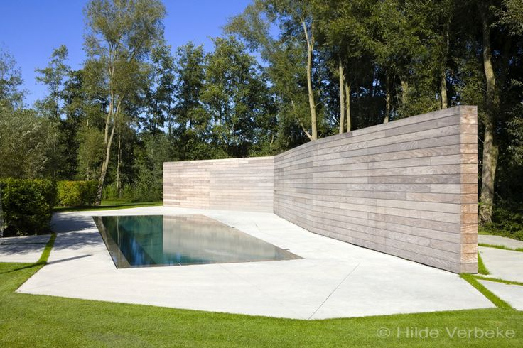 buiten zwembad, zwembad, overloopbad, privé zwembad, betonnen zwembad | De Mooiste Zwembaden