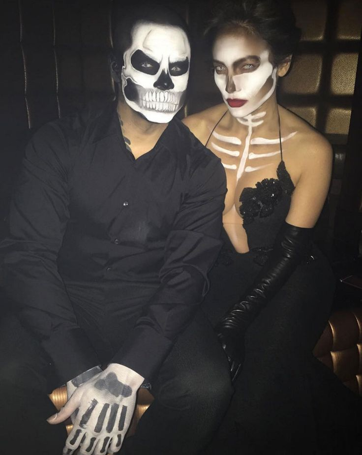 The killer contouring took this skeleton look to another level.