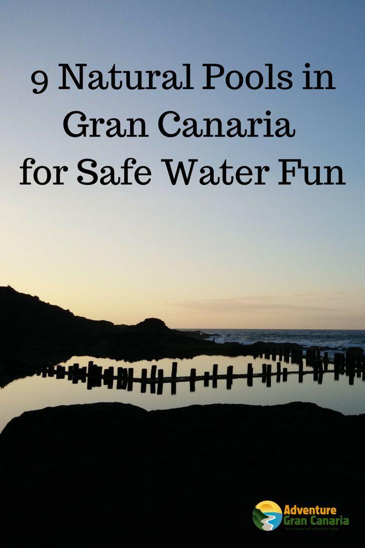 natural pools in Gran Canaria, Spain
