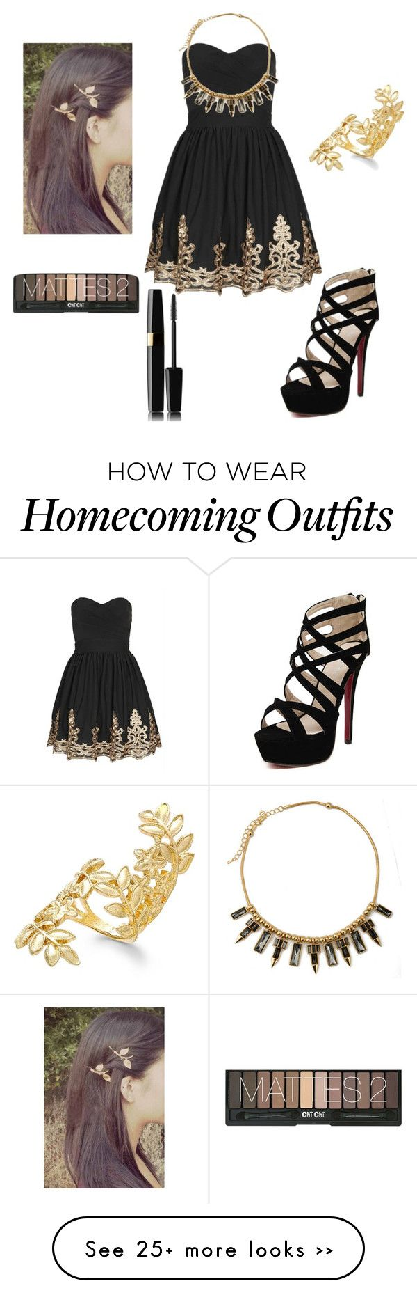"""Homecoming"" by nataliejohnson-4 on Polyvore"