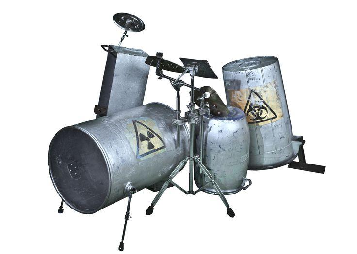 Buatteria - drums made by metal and plastic bins - batteria fatta da bidoni di plastica e metallo http://youtu.be/EcJWrYCppa8