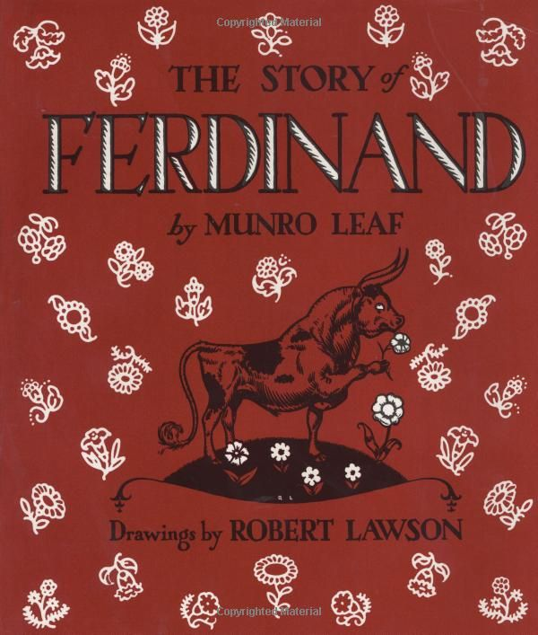 The Story Of Ferdinand (Turtleback School & Library