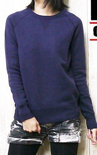 Amazon.co.jp: (バーンズ)BARNS レディース スウェット フラットシーマー 吊り編み クルーネック NB-4930 F イエロー: 服&ファッション小物通販
