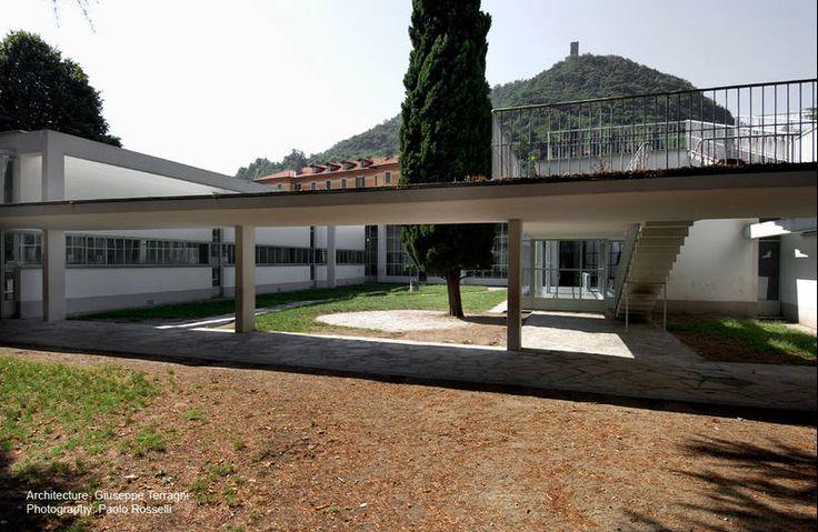 Giuseppe Terragni, Sant'Elia Nursery School, Como, Italy