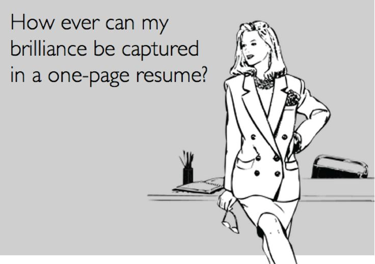 Get one step closer to the #interview you want by utilizing our list of eight can't-miss ways to shorten your #resume.