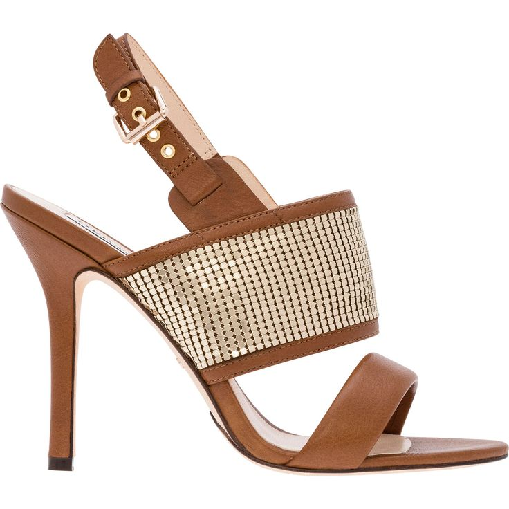 Magnetism mesh heel sandals. These statement heels feature timeless Oroton mesh and an ankle strap, ensuring an elegant silhouette that will shine at cocktail hour.