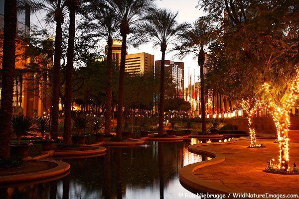 The Arizona Center in downtown Phoenix, Arizona