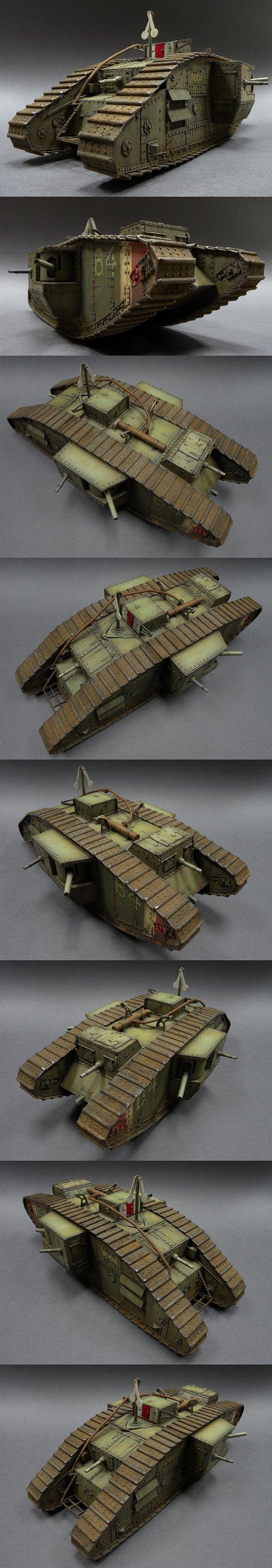 Mk. V Hermaphrodite 1/35 Scale Model