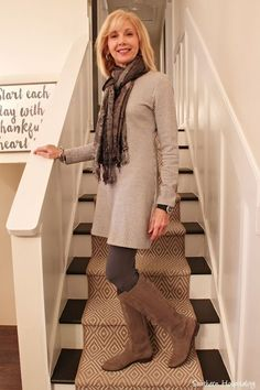 Fashionable over 50 fall outfits ideas 86