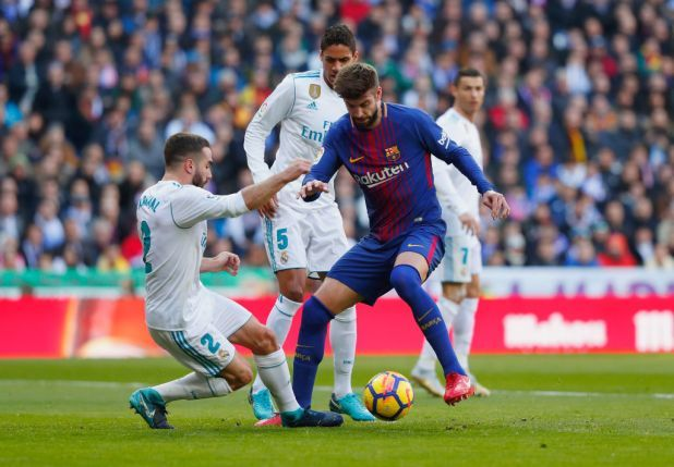 Gerard Pique denied a penalty vs Real Madrid (Video)          Through   Conor Laird    Created on: December 23 2017 1:08 pm  Remaining Up to date: December 23 2017  1:08 pm   Fanatics of Barcelona had been up in fingers all over the first-half in their conflict with Actual Madrid after Gerard Pique used to be denied a penalty following a problem from Dani Carvajal.  Opponents reunite  Spains two greatest aspects are these days locked in motion in a the most important…