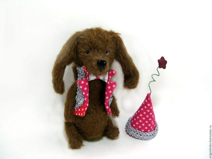 Купить Такса Rising Star Восходящая звезда - коричневый, такса, такса игрушка, собачка