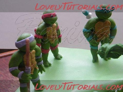 Ninja Turtles: Fondant Figure