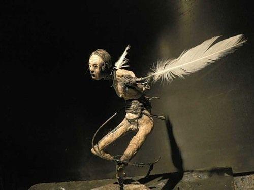 so simple: Art Work, Olivier De Sagazan, Olives De Sagazan, Figures Sculpture, Solitari Dogs, Sagazan Olivier, Art Gain, Art Dolls, Dogs Sculptor