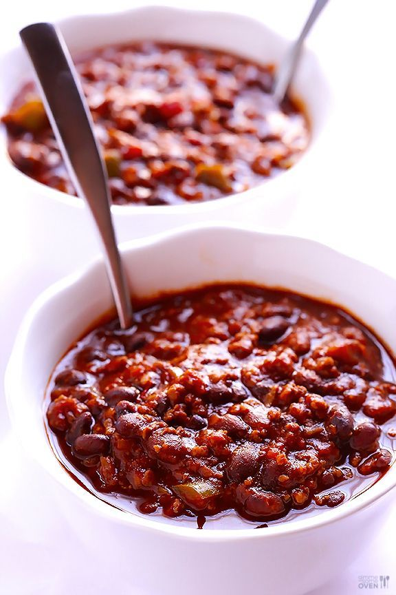 5 Ingredient beef or turkey Chili -- just 5 minutes of prep, too. Works for Phase 1 or Phase 3. #fastmetabolismdietphase3