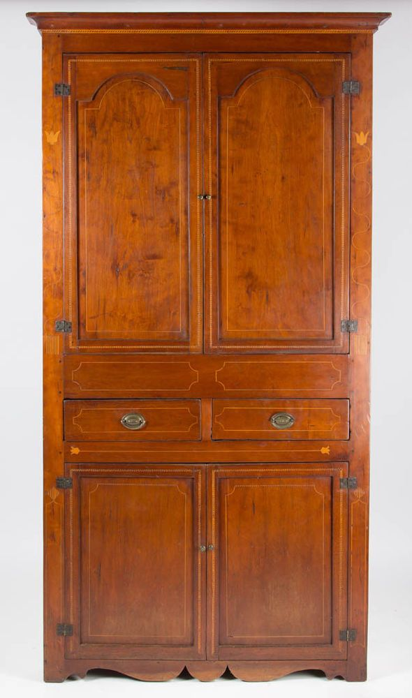 SOUTHERN INLAID CHERRY CORNER CUPBOARD Lot 380 - 182 Best Cupboards And Presses Images On Pinterest 'salem's Lot