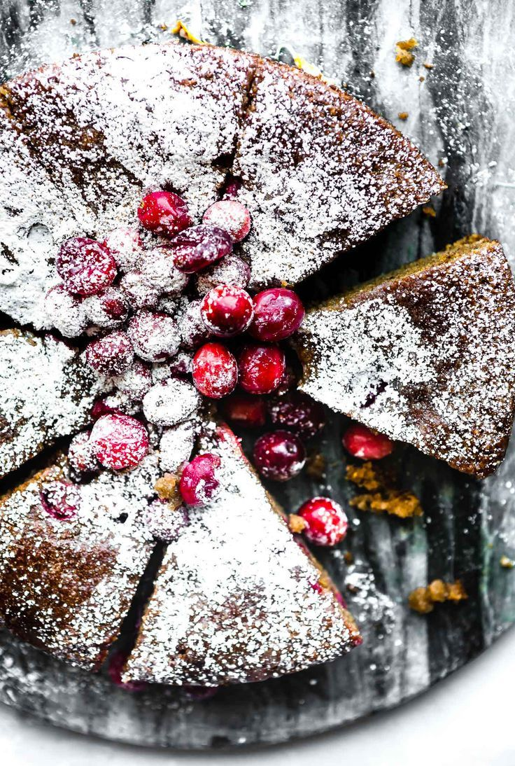Cranberry Sour Cream Almond Cake is a flavorful grain free almond cake that tastes just like favorite sour cream coffee cake, but healthier. Made with fresh cranberries, almond flour, sour cream, eggs, and a simple maple glaze. Every bite is moist and delish! Ready in under an hour.