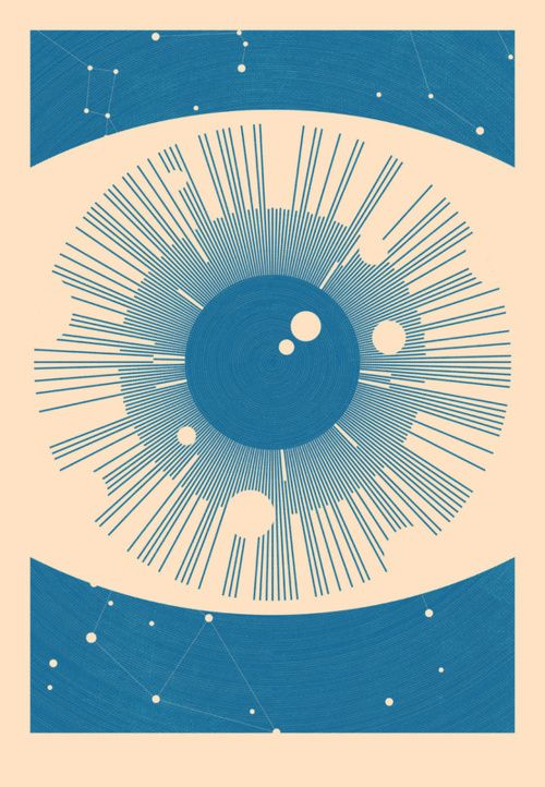 2headedsnake: society6.com: Simon C Page - Astronomical Eye