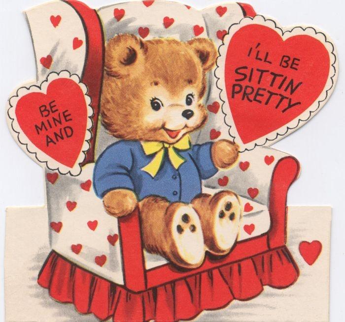 368 best Vintage Cards Valentine images – Vintage Valentine Cards to Print