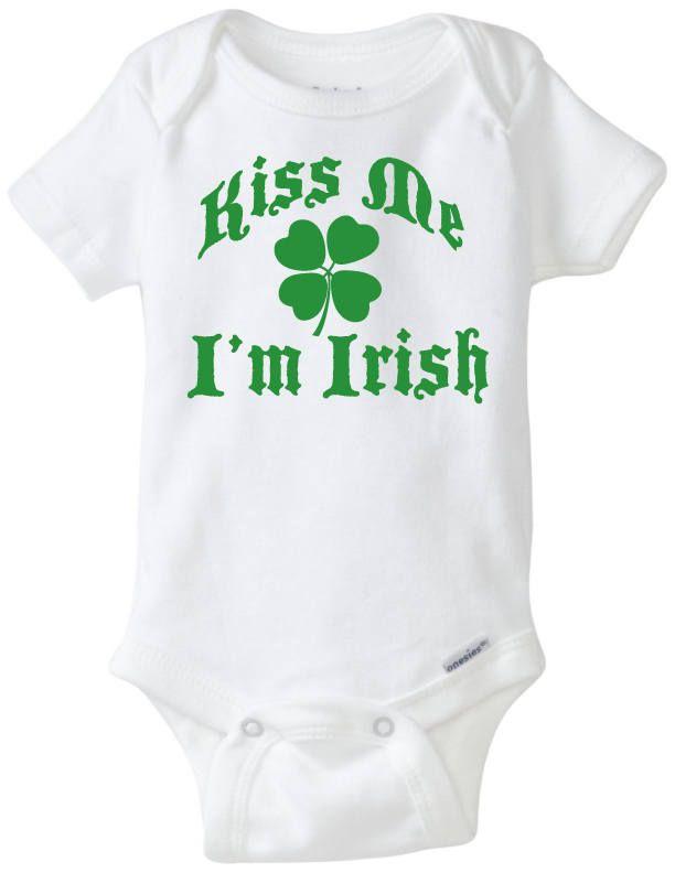da9e4319a Baby Clothes   Kiss Me I'm Irish   Baby Boy Clothes   Baby Girl ...
