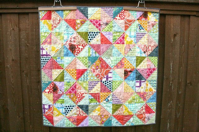 Warm Cool QuiltQuilt Inspiration, Crafts Ideas, Colors Baby, Quilt Ideas, Baby Quilts, Art Quilt, Quilty Inspiration, Bright Quilt, Bright Colors