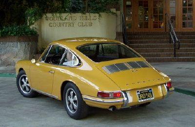1967 Porsche 912, ButterScotch