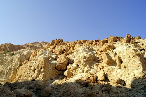 Cuevas en Ein Guedi, Israel.