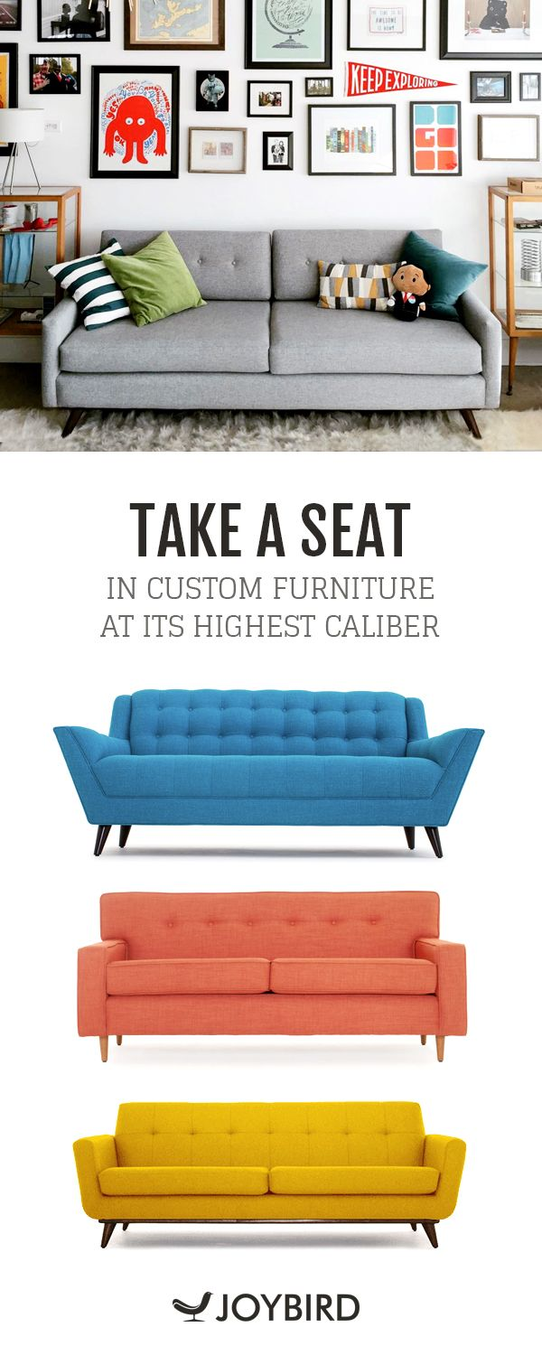 furniture 365. why be generic when you can stand out with mid century modern furniture from joybird? 365 e