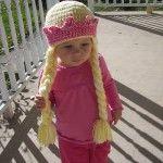 Crochet Princess Hat