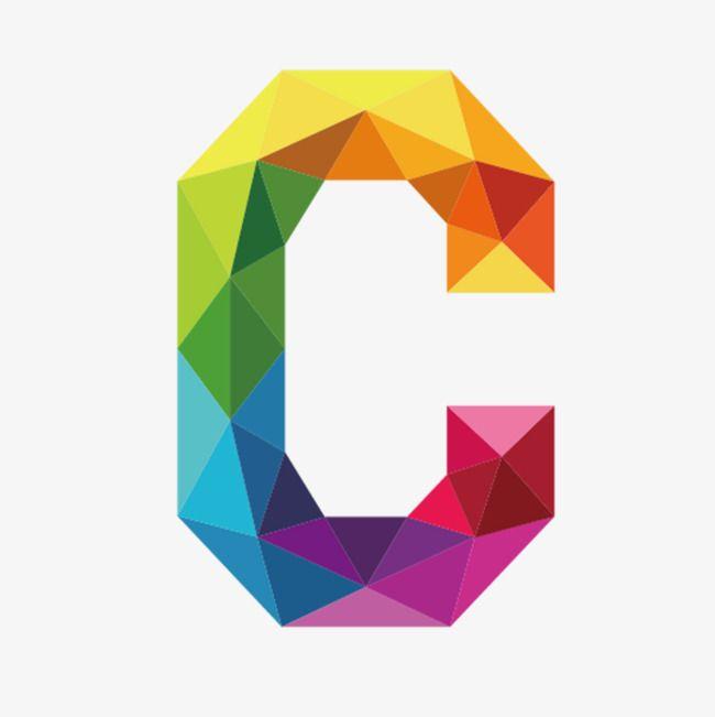 Letra C Do Alfabeto Colorido Carta C Colorido Imagem Png E Vetor Para Download Gratuito Letter C Lettering Alphabet Lettering