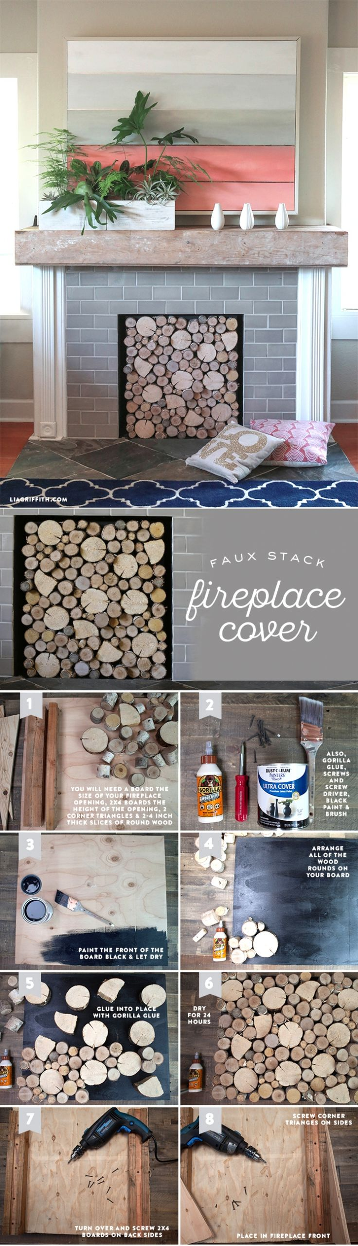 best 25 fireplace cover ideas on pinterest fake fireplace logs