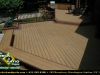 Decks - Wood and Composite Materials Decks are typically, but not always, attached to the back or side of a house. They are designed to work with the elevations of the house access and the lay of the land. Multi-level decks