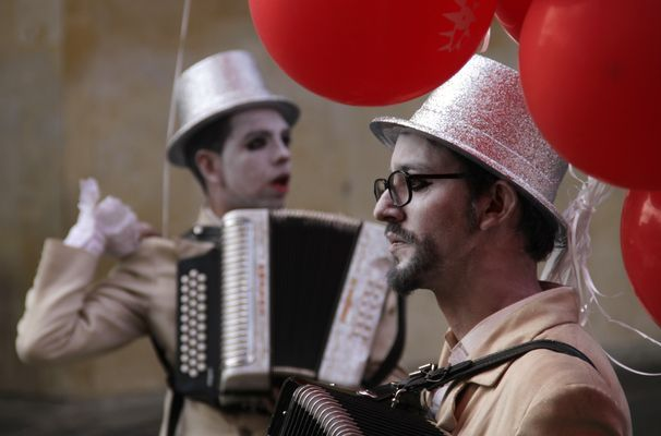 Desfile Inaugural del Festival Iberoamericano de Teatro de Bogotá, Galerias - Semana.com