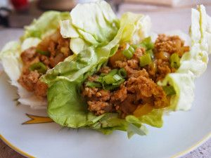 Turkey Lettuce Wraps make an excellent light lunch for those hot summer days.