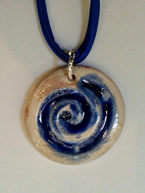 Spirale  Ceramica #blu #spirale #ceramica