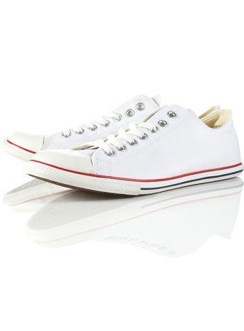 Converse White Slim Trainers