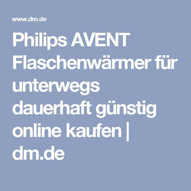 Philips AVENT Flaschenwärmer für unterwegs dauerhaft günstig online kaufen | dm.de