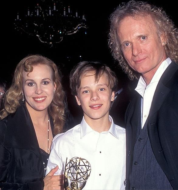 Genie Francis, Jonathan Jackson and Anthony Geary (Laura, Lucky, and Luke Spencer), General Hospital (GH)