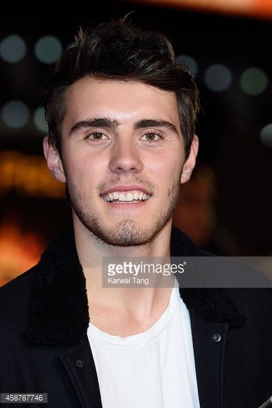 Alfie Deyes attends the World Premiere of 'The Hunger Games Mockingjay Part 1' at Odeon Leicester Square on November 10 2014 in London England