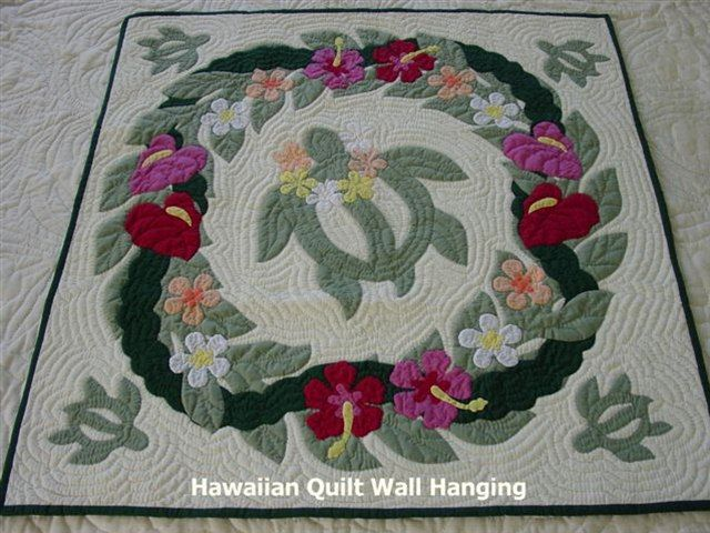 Hawaiian Quilt pattern ~ could still make all one color.