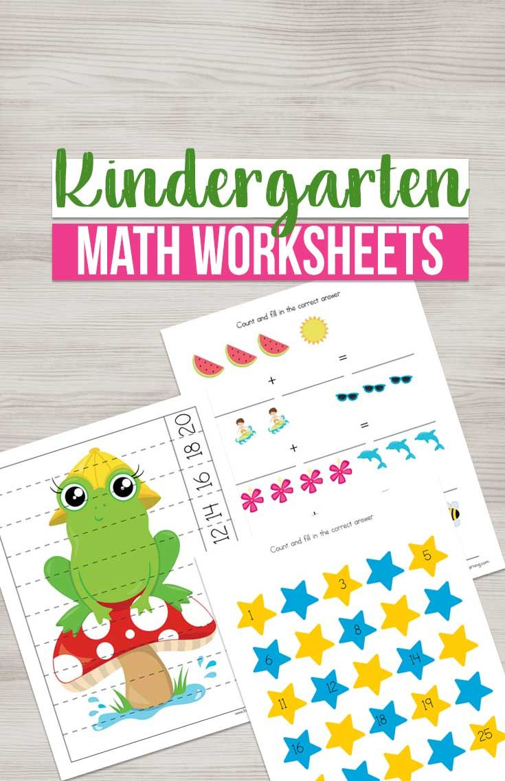 Kindergarten Math Worksheets In 2020 Kindergarten Math Worksheets Kindergarten Math Games Math Worksheets [ 1135 x 735 Pixel ]