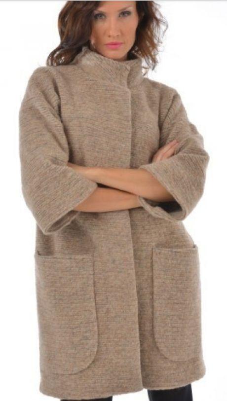 Выкройка пальто силуэта оверсайз на размер ОГ 86 -94 см (Шитье и крой)   Журнал Вдохновение Рукодельницы