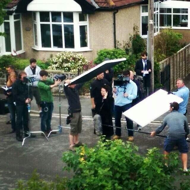 May 31: @dpass1974  More filming of Broadchurch in the beautiful north Somerset town of Clevedon