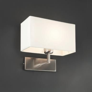 Applique 1L design Faro Swing Nickel Acier 62988